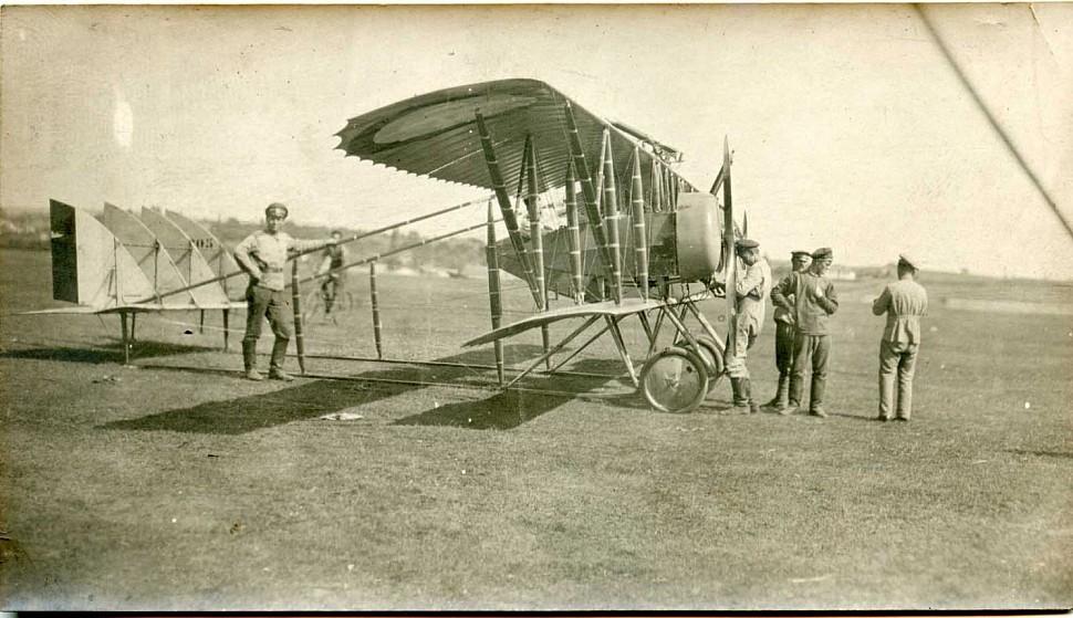 Самолет ВВС Российской Империи. Первая мировая война 1914 год