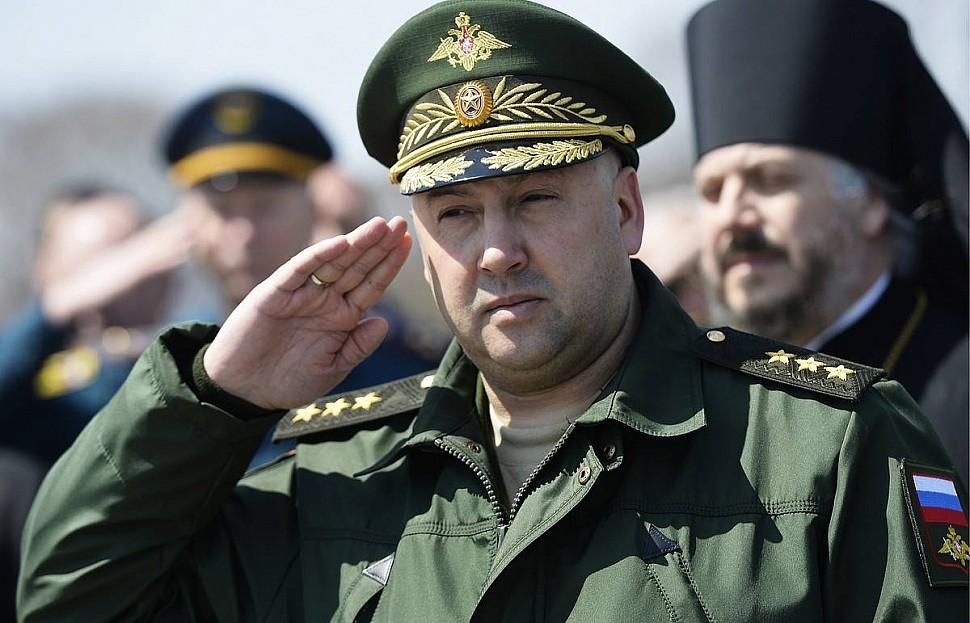 Командующий ВКС РФ Сергей Суровикин