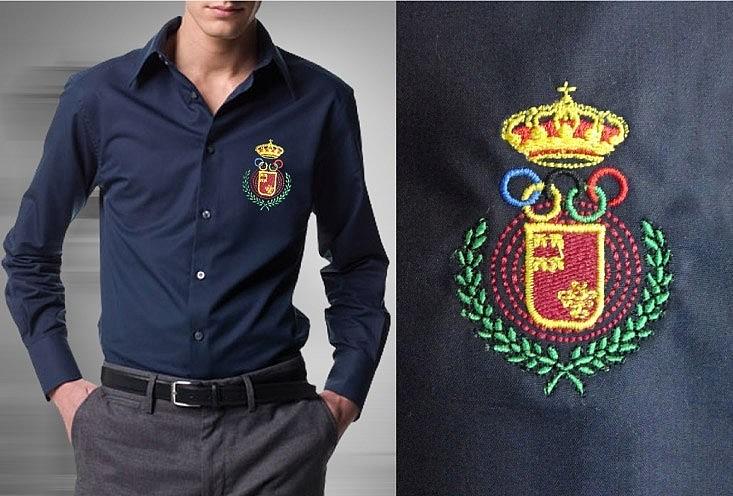 Вышивка логотипов и эмблем на одежде
