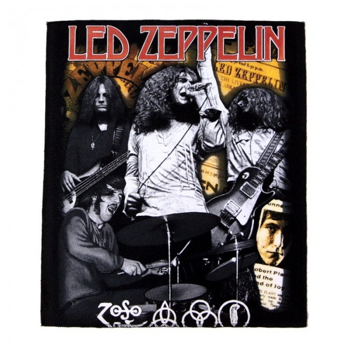 Декор нашивка  Led Zeppelin группа