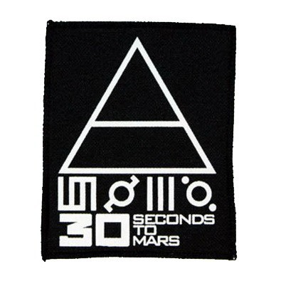 Декор нашивка  30 Seconds To Mars (95X115)