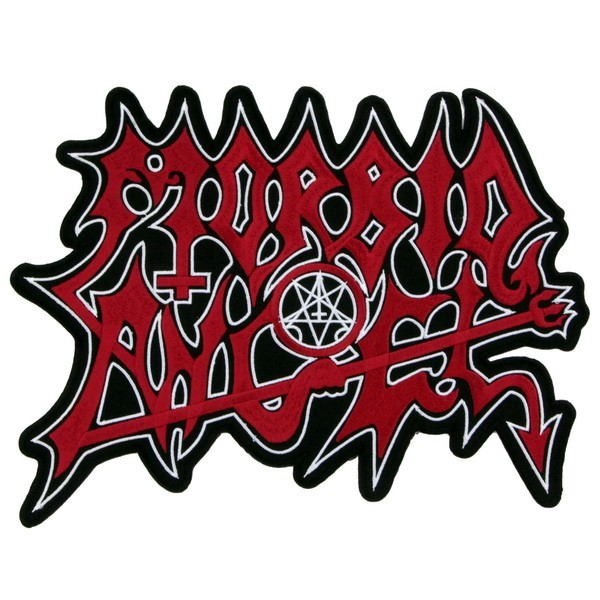 Декор нашивка  Morbid Angel