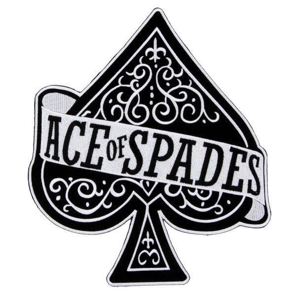 Декор нашивка  Motorhead - Ace Of Spades (2)