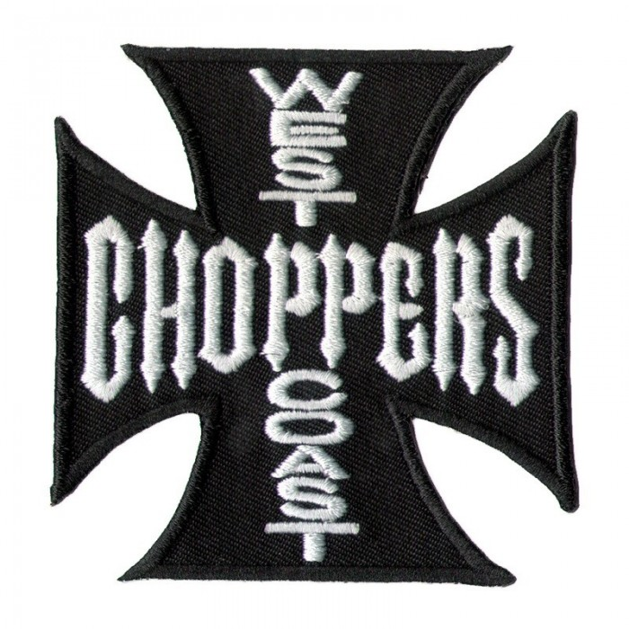 Декор нашивка West Coast Choppers (черная) 1