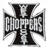 Декор нашивка West Coast Choppers (черная) 2