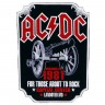 Декор нашивка  AC/DC For Those About To Rock