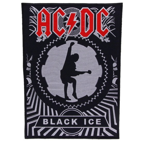 Декор нашивка  AC/DС Black Ice