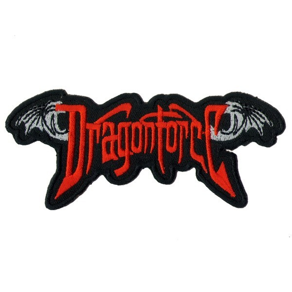 Декор нашивка  Dragonforce