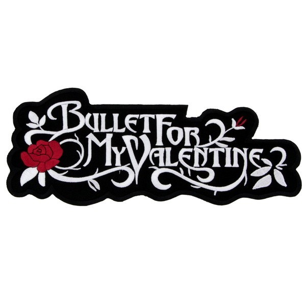 Декор нашивка  Bullet For My Valentine