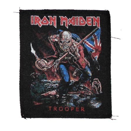 Декор нашивка  Iron Maiden - Trooper (125X115)
