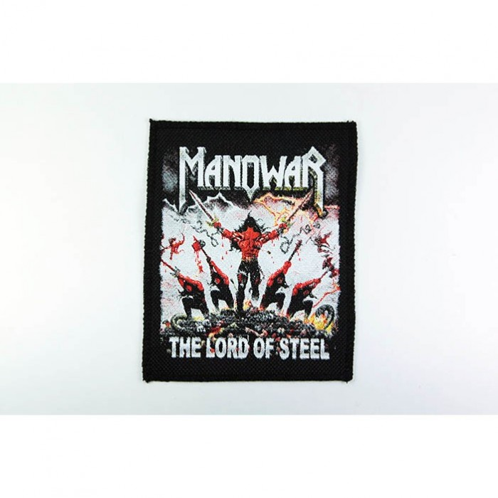 Декор нашивка  Manowar - The Lord Of Steel (95X110)