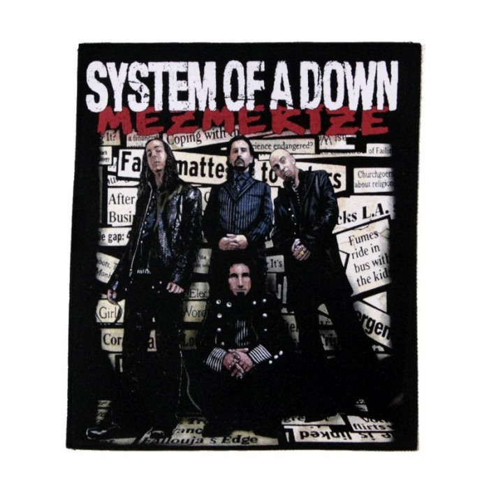 Декор нашивка  System Of A Down Mezmerize