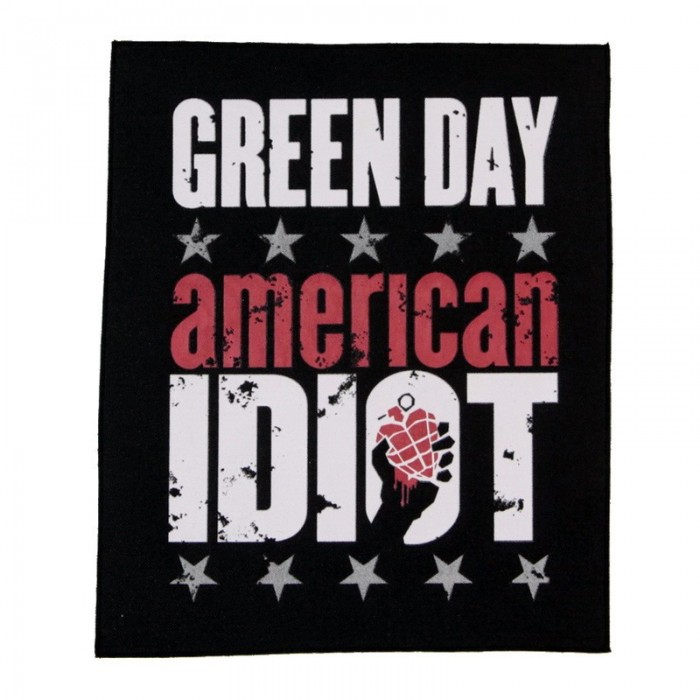 "Декор нашивка  Green Day "" American Idiot """