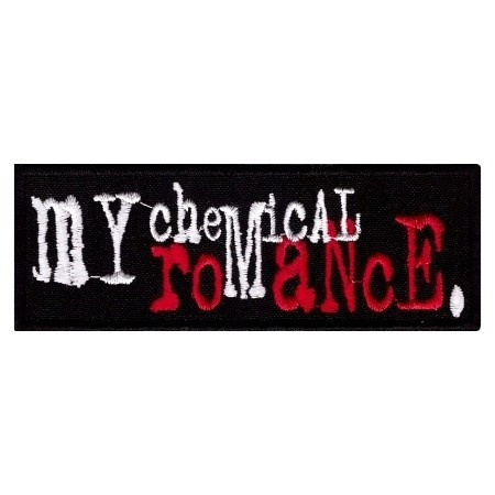 Декор нашивка  My Chemical Romance (лого цветное)