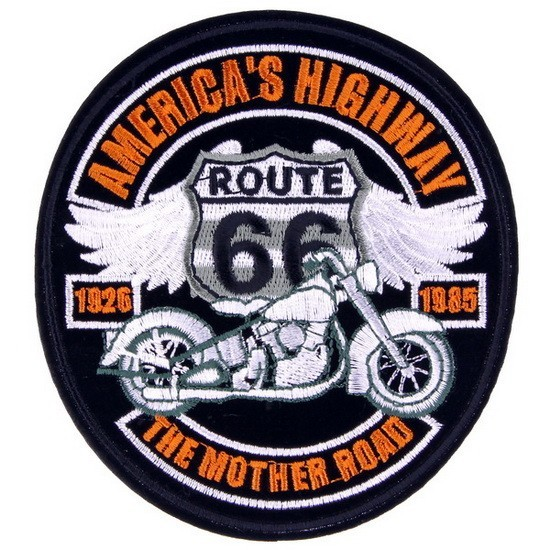Декор нашивка Route 66 (American's Highway)