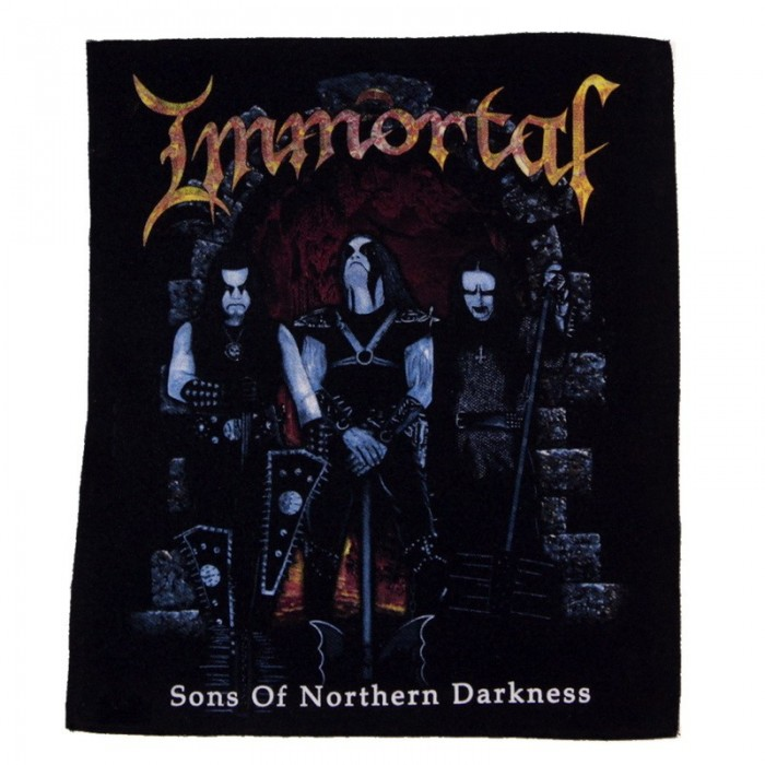 Декор нашивка  Immortal Sons of Northern Darkness
